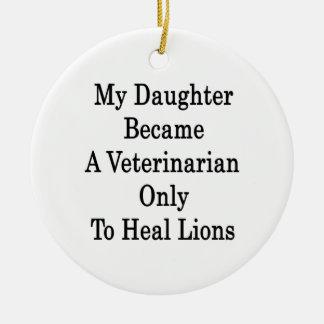 Mi hija hizo veterinario para curar solamente a Li Adornos