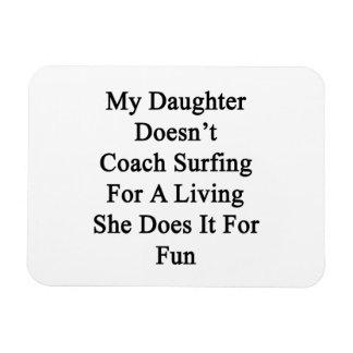 Mi hija no entrena practicarla surf para la vida d iman