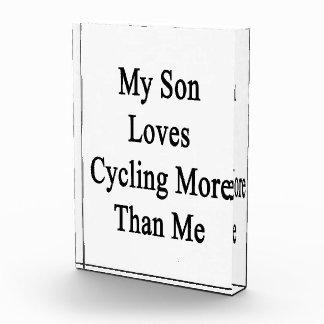 Mi hijo ama el completar un ciclo más que mí