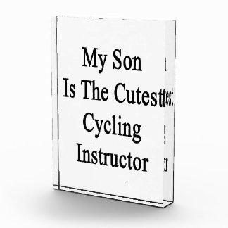 Mi hijo es el instructor de ciclo más lindo