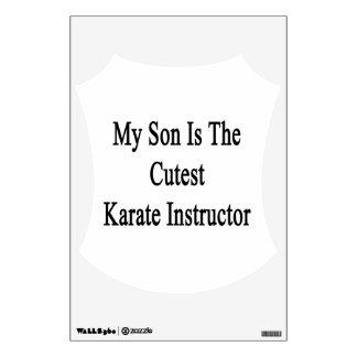 Mi hijo es el instructor más lindo del karate