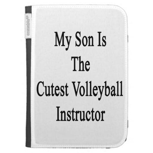 Mi hijo es el instructor más lindo del voleibol