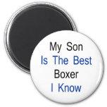 Mi hijo es el mejor boxeador que conozco iman para frigorífico