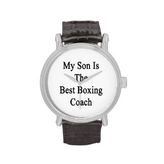 Mi hijo es el mejor coche del boxeo
