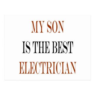 Mi hijo es el mejor electricista postal