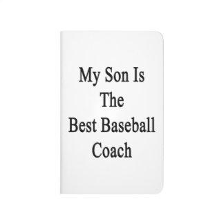 Mi hijo es el mejor entrenador de béisbol