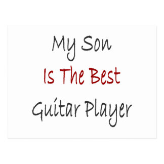 Mi hijo es el mejor guitarrista postal