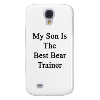 Mi hijo es el mejor instructor del oso