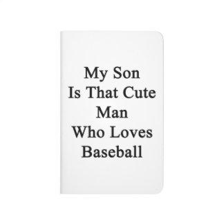 Mi hijo es ese hombre lindo que ama béisbol