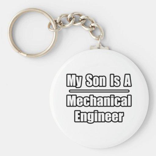 Mi hijo es ingeniero industrial llavero personalizado
