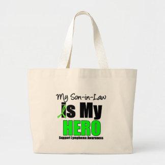 Mi hijo es mi héroe bolsa tela grande