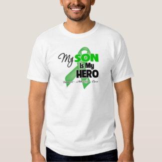 Mi hijo es mi héroe - cáncer del riñón remeras