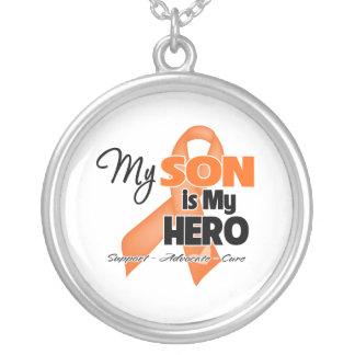 Mi hijo es mi héroe - leucemia collar personalizado