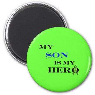 Mi hijo es mi imán del héroe