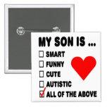 Mi hijo es… pin