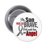 Mi hijo es un cáncer de cerebro del ángel 1 pin