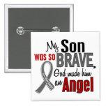 Mi hijo es un cáncer de cerebro del ángel 1 pins