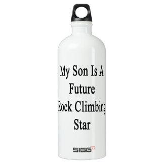 Mi hijo es una estrella futura de la escalada