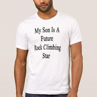 Mi hijo es una estrella futura de la escalada poleras