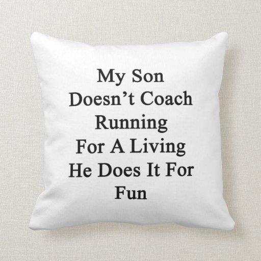 Mi hijo no entrena el funcionamiento para la vida  almohadas