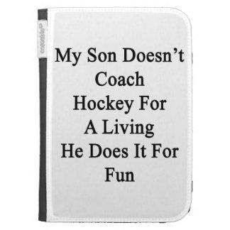 Mi hijo no entrena el hockey para la vida de A que