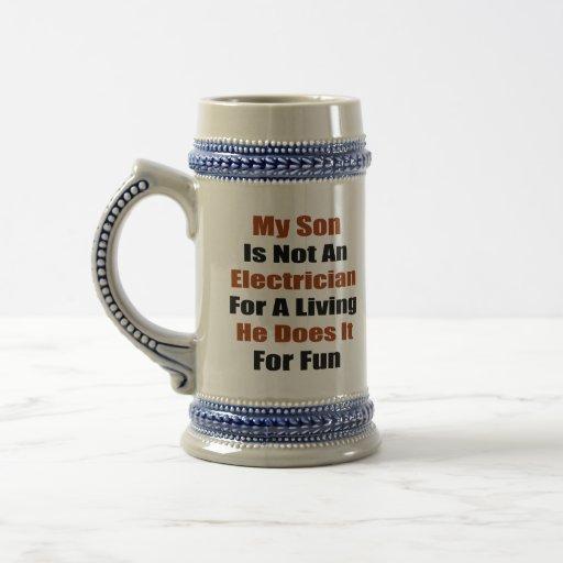 Mi hijo no es electricista para la vida de A que é Taza De Café