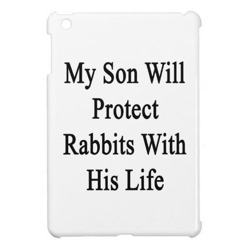 Mi hijo protegerá conejos con su vida