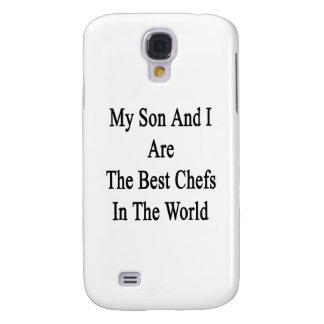 Mi hijo y yo somos los mejores cocineros del mundo funda para galaxy s4