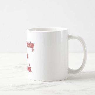 Mi hipocresía no sabe ningún límite taza de café