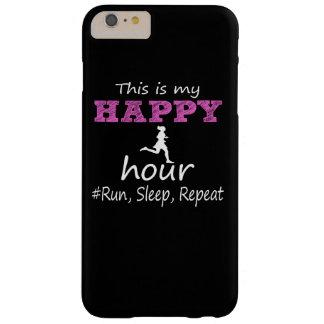 ¡Mi hora feliz! Corra, duerma, repita… Funda Para iPhone 6 Plus Barely There