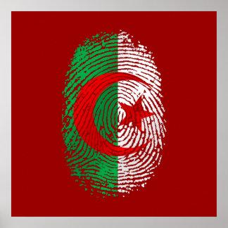 Mi huella dactilar es camisetas y engranaje argeli póster