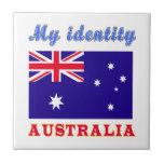 Mi identidad Australia Azulejo Cerámica