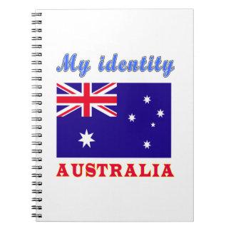 Mi identidad Australia Libro De Apuntes