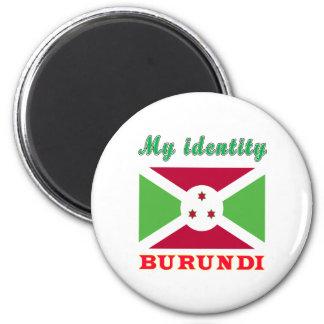 Mi identidad Burundi Imán De Nevera