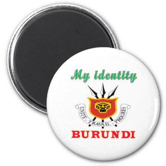 Mi identidad Burundi Imán Para Frigorífico