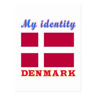 Mi identidad Dinamarca Tarjetas Postales