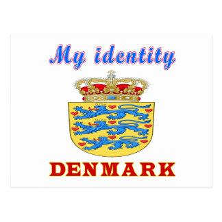 Mi identidad Dinamarca Postales