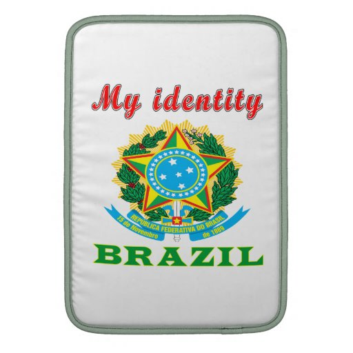 Mi identidad el Brasil Funda Macbook Air