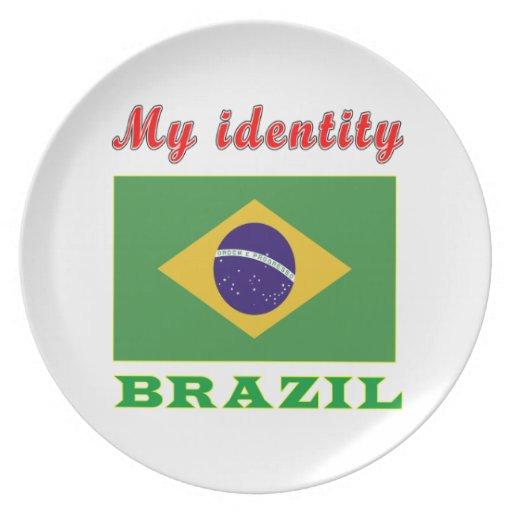 Mi identidad el Brasil Platos De Comidas