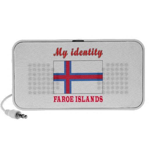 Mi identidad Faroe Island Mini Altavoces