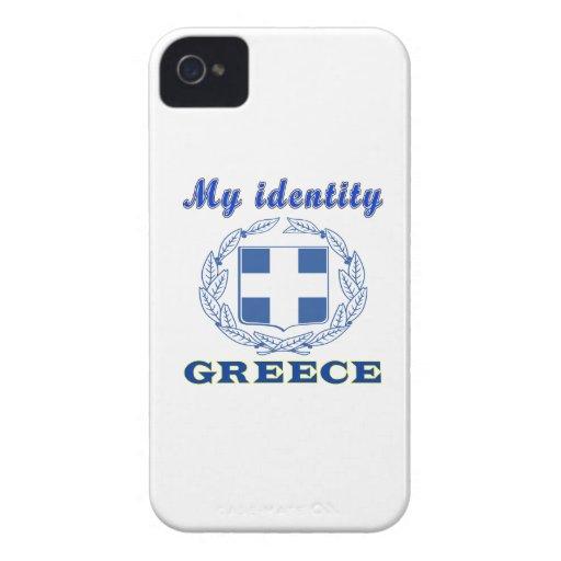 Mi identidad Grecia Case-Mate iPhone 4 Funda