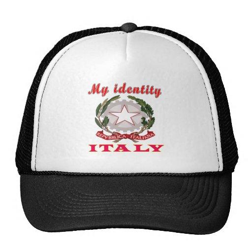 Mi identidad Italia Gorras