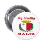 Mi identidad Malta Pin