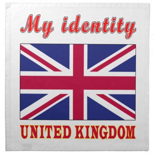 Mi identidad Reino Unido Servilletas De Papel