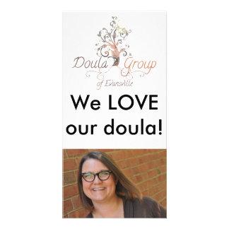 Mi imagen de Doula Tarjeta Fotografica