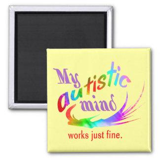 Mi imán autístico de la mente