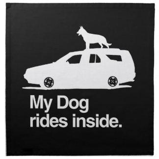 Mi interior de los paseos del perro - .png servilleta de papel