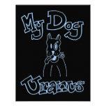 Mi invitación de Urano del perro