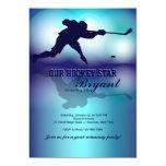 Mi invitación del juego del hockey