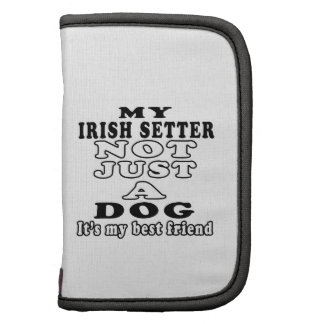 Mi Irish Setter no apenas un perro es mi mejor ami Organizador